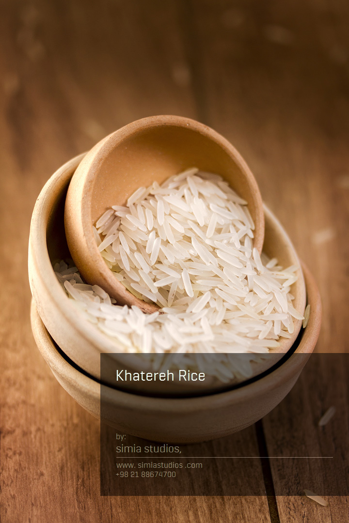 عکاسی صنعتی برنج خاطره