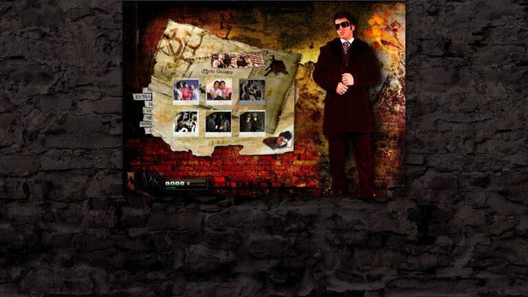 طراحی وبسایت گروه موسیقی G-13